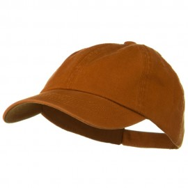 Deluxe Garment Washed Cotton Twill Cap - Tx Orange