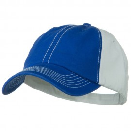 Two Tone Garment Cotton Twill Cap