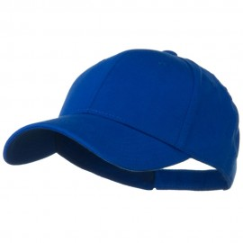 Comfy Cotton Jersey Knit Low Profile Strap Cap - Royal