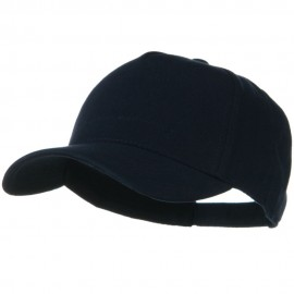 Comfy Cotton Jersey Knit 5 Panel Cap - Navy