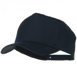 Solid Cotton Twill Pro style Golf Cap - Navy