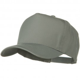 Solid Cotton Twill Pro style Golf Cap - Grey