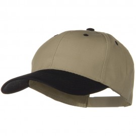 Two Tone Cotton Twill Low Profile Snap Cap
