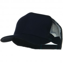 Solid Cotton Twill Mesh Prostyle Cap - Navy