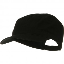 Big Size Solid Military Cap