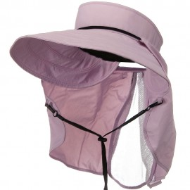 UV 50+ Talson Visor with Flap - Pink