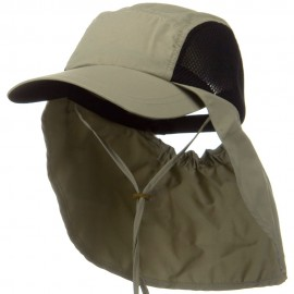 UV 50+ Talson Side Mesh Flap Cap