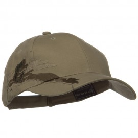 Hunting Animal Embroidery Theme Cap - Bass