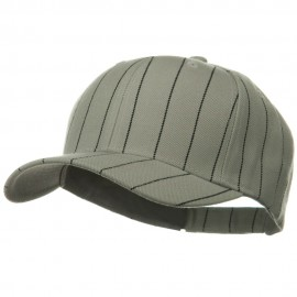 Pin Striped Adjustable Baseball Cap