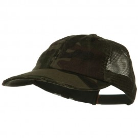 Vintage Cotton Mesh Cap