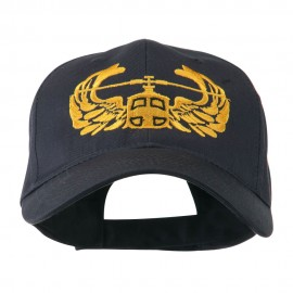 Air Assault Air Force Badge Outline Embroidered Cap - Navy
