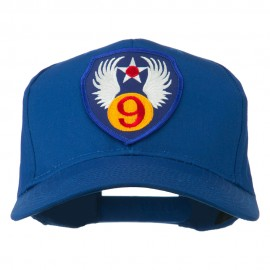 9th Air Force Division Patched Cap - Royal