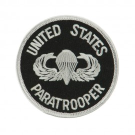 Air Borne Embroidered Military Patch - Paratrooper