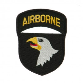 Air Borne Embroidered Military Patch - 101st