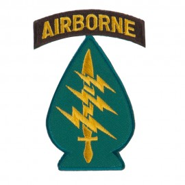 Air Borne Embroidered Military Patch - Special Force
