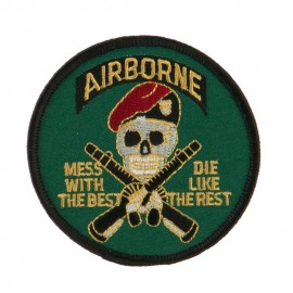 Air Borne Embroidered Military Patch - Air Borne 2