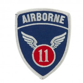 Air Borne Embroidered Military Patch - 11th