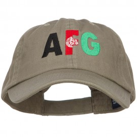 Afghanistan Embroidered Low Profile Cap