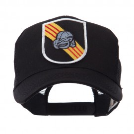 US Army Shield Military Patched Mesh Cap