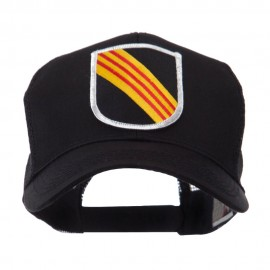 US Army Shield Military Patched Mesh Cap - 5th SF