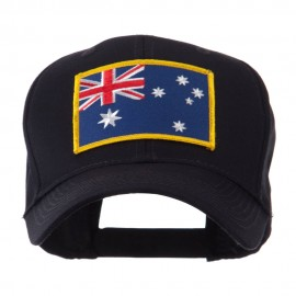 Asia Flag Embroidered Patch Cap