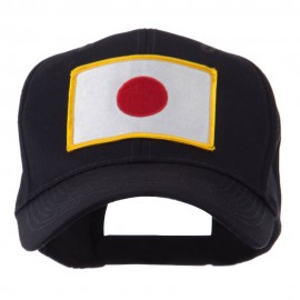 Asia Flag Embroidered Patch Cap - Japan