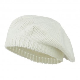 Classic Acrylic Knit Ladies Beret