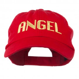 Angel Embroidered Cap