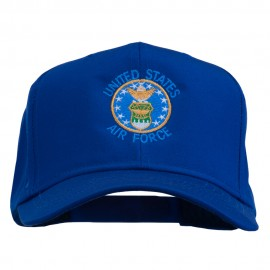 US Air Force Logo Embroidered Cap