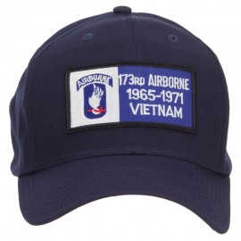 173rd Airborne Military Patched Cap