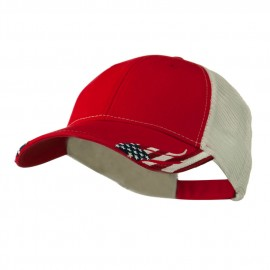 Structured American Flag Cap