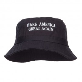 Make America Great Again Embroidered Bucket Hat