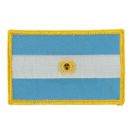 America Flag Embroidered Patches - Argentina