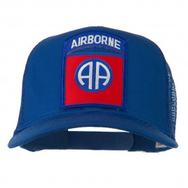 82nd Airborne Military Patched Mesh Cap