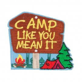 Camp Like You Mean It Patches