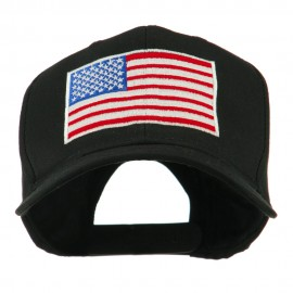 American Flag Embroidered Cap