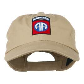 82nd Airborne Military Embroidered Pigment Dyed Cotton Cap