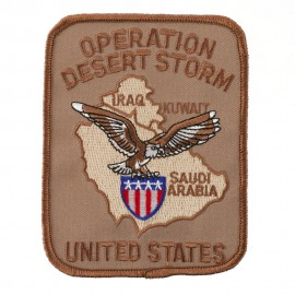 Assorted Operation Patches - Desert Storm US