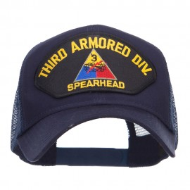 US Army Third Division Patched Mesh Cap