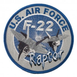 U.S. Air Force Aircraft Patches - F-22 Raptor