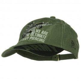 US Army Unit Pigment Dyed Cap - Piercing