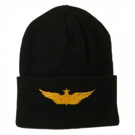 Aircraft Crewman Embroidered Long Beanie