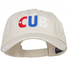 Cuba CUB Flag Embroidered Low Profile Cap