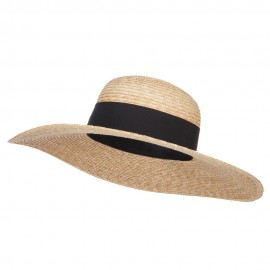 UPF 50+ Boater Wide Brim Hat