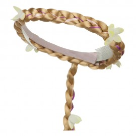 Blonde Braid Headpiece