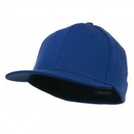 Flat Bill Fitted Flex Cap - Royal