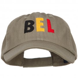 Belgium Embroidered Low Profile Cap
