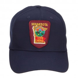 Minnesota State Patrol Patched Pro Style Cap
