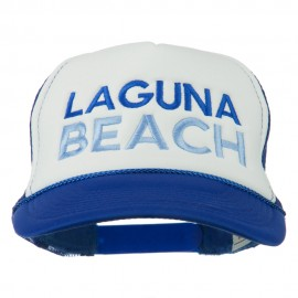 Laguna Beach Embroidered Foam Mesh Back Cap