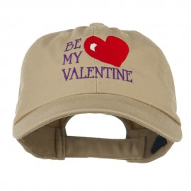 Be My Valentine Embroidery Cap